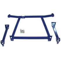 Toronymerevítő első alsó - LANCER EVO 7-9 Kék